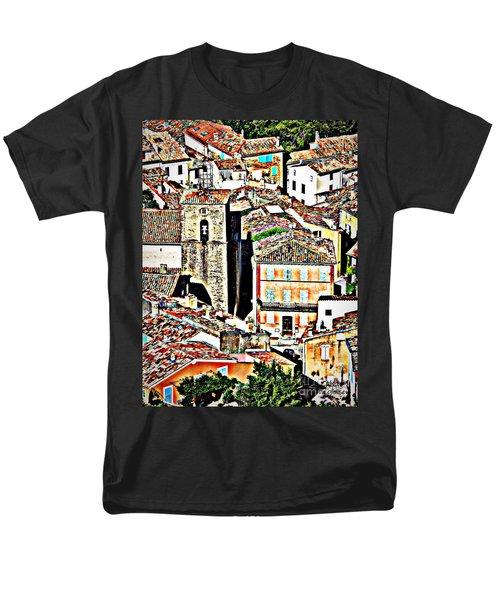 La Garde Freinet Men's T-Shirt  (Regular Fit) by Lainie Wrightson