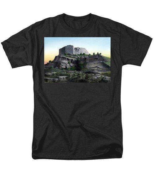 La Rocca De Monte Calvo Men's T-Shirt  (Regular Fit) by Albert Puskaric