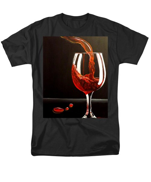 Lady In Red Men's T-Shirt  (Regular Fit) by Darren Robinson