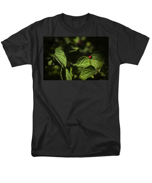 Men's T-Shirt  (Regular Fit) featuring the photograph Ladybug by Bradley R Youngberg