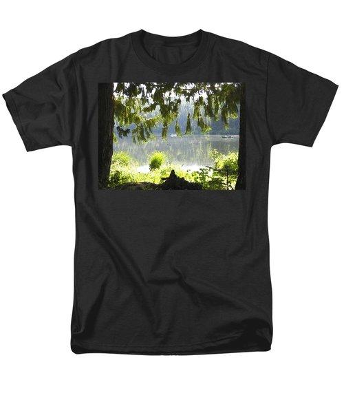 Lake Of Dreams Men's T-Shirt  (Regular Fit)
