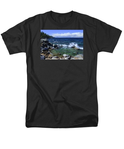 Men's T-Shirt  (Regular Fit) featuring the photograph Lake Tahoe Wild  by Sean Sarsfield