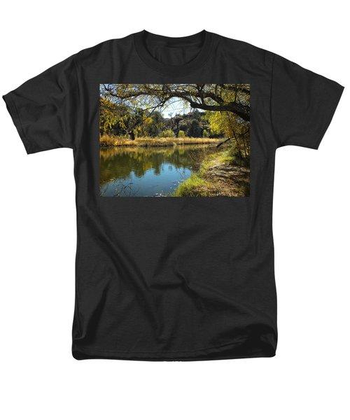 Lake View Men's T-Shirt  (Regular Fit) by Lucinda Walter