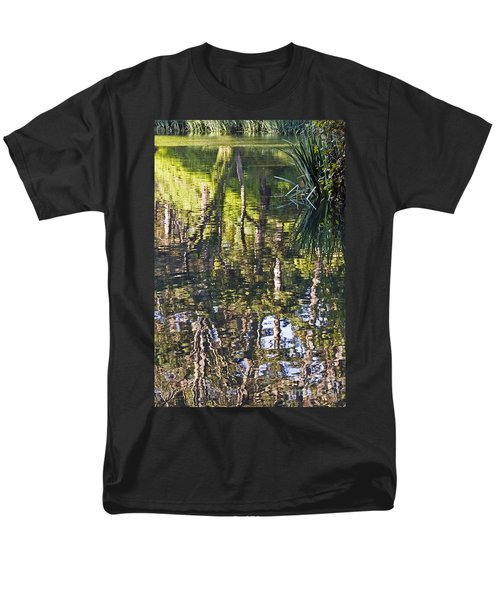 Men's T-Shirt  (Regular Fit) featuring the photograph Lakeshore Reflections by Kate Brown
