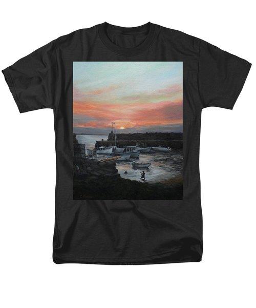 Lanes Cove Sunset Men's T-Shirt  (Regular Fit) by Eileen Patten Oliver