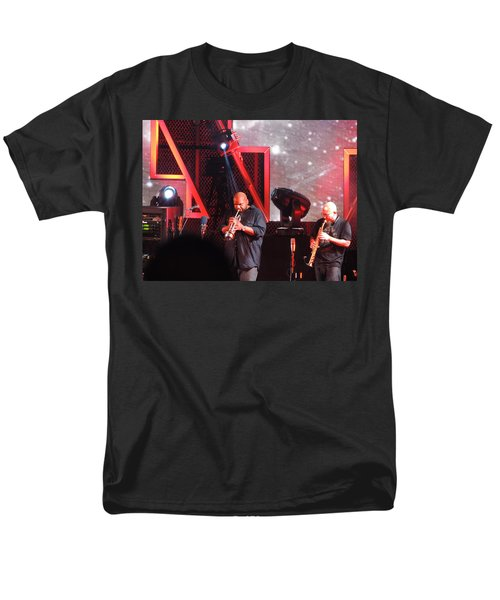 Men's T-Shirt  (Regular Fit) featuring the photograph Lashawn Ross And Jeff Coffen by Aaron Martens