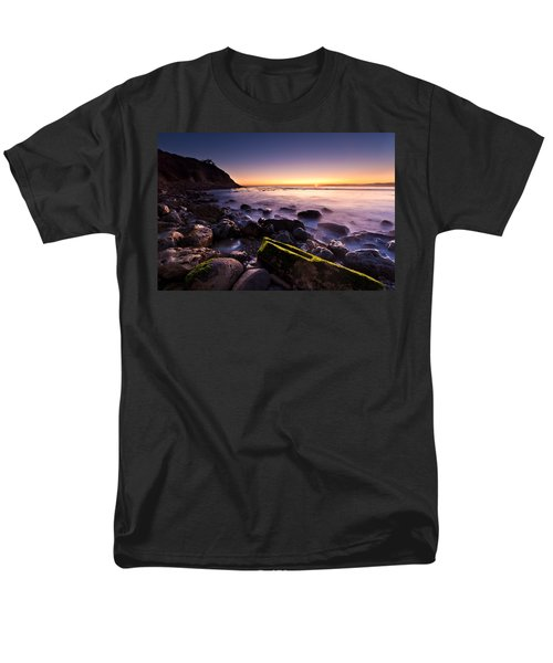Men's T-Shirt  (Regular Fit) featuring the photograph Last Ray by Mihai Andritoiu