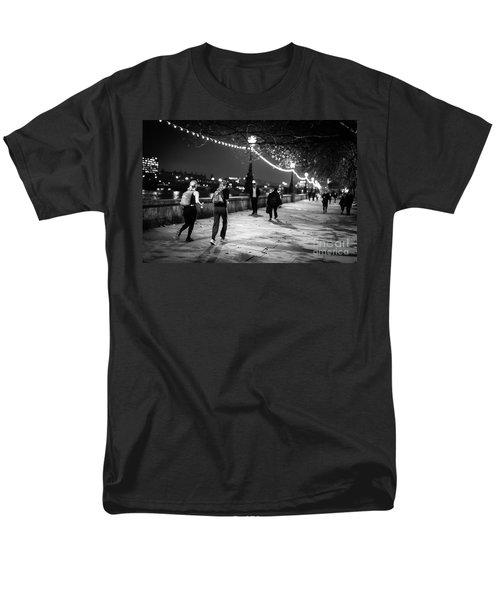 Late Night Run Men's T-Shirt  (Regular Fit) by Matt Malloy
