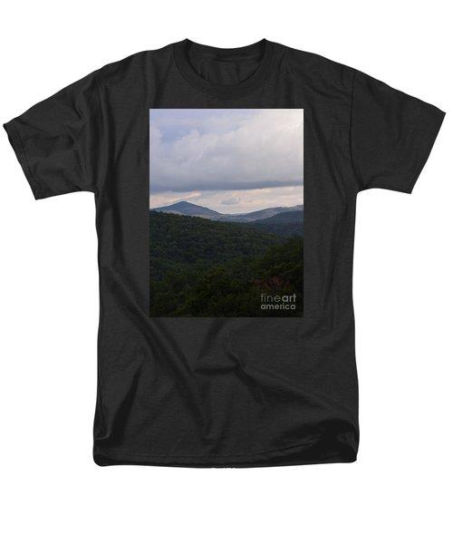 Laurel Fork Overlook 1 Men's T-Shirt  (Regular Fit) by Randy Bodkins