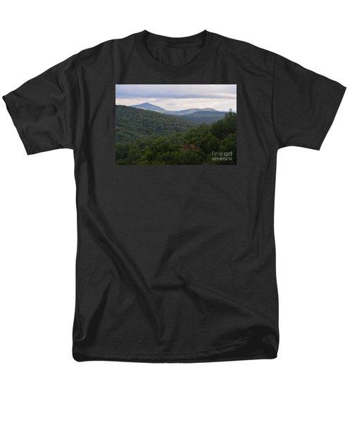 Laurel Fork Overlook II Men's T-Shirt  (Regular Fit) by Randy Bodkins