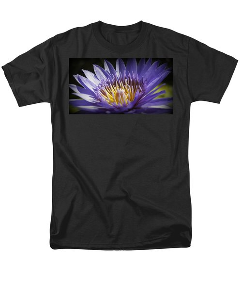 Men's T-Shirt  (Regular Fit) featuring the photograph Lavendar Lily by Laurie Perry