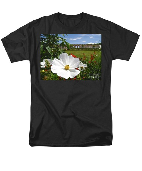 Men's T-Shirt  (Regular Fit) featuring the photograph Le Fleur De Versailles by Suzanne Oesterling