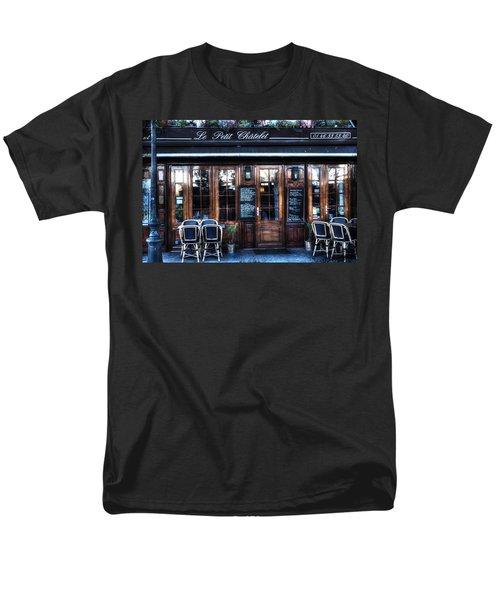 Le Petit Chatelet Paris France Men's T-Shirt  (Regular Fit) by Evie Carrier