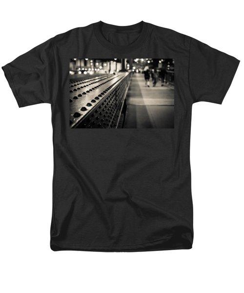 Leading Across Men's T-Shirt  (Regular Fit) by Melinda Ledsome