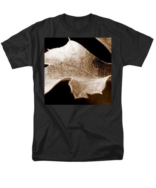 Men's T-Shirt  (Regular Fit) featuring the photograph Leaf Collage 1 by Lauren Radke