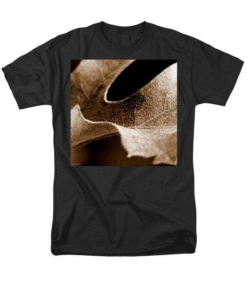 Men's T-Shirt  (Regular Fit) featuring the photograph Leaf Collage 3 by Lauren Radke