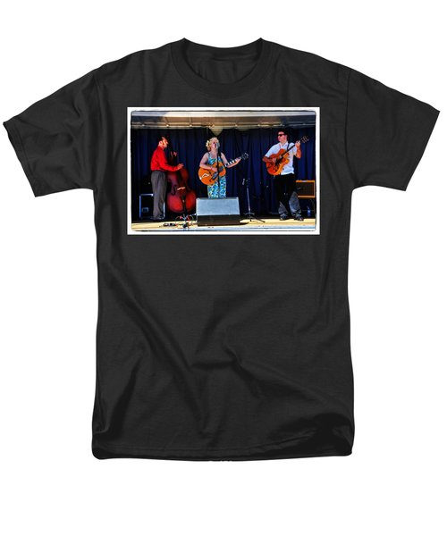 Men's T-Shirt  (Regular Fit) featuring the photograph Leah And Her J Walkers by Mike Martin