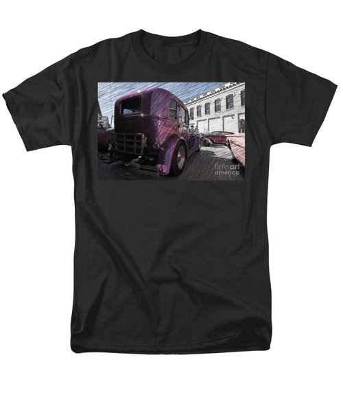 Leavenworth Kansas Men's T-Shirt  (Regular Fit) by Liane Wright