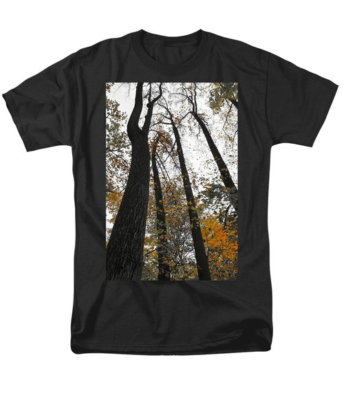 Men's T-Shirt  (Regular Fit) featuring the photograph Leaves Lost by Photographic Arts And Design Studio