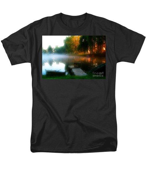 Leidy Lake Campground Men's T-Shirt  (Regular Fit)