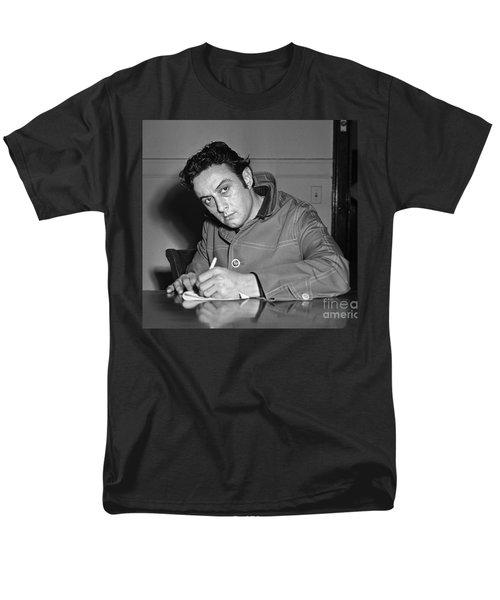 Lenny Bruce 1963 Men's T-Shirt  (Regular Fit) by Martin Konopacki Restoration