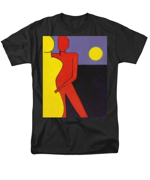 Let's Dance Men's T-Shirt  (Regular Fit) by Patricia Cleasby