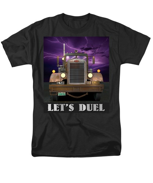 Let's Duel Men's T-Shirt  (Regular Fit) by Stuart Swartz