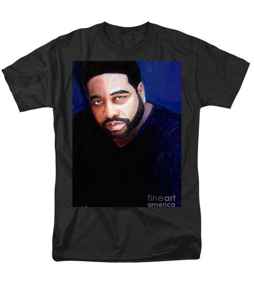 Men's T-Shirt  (Regular Fit) featuring the painting Levert by Vannetta Ferguson