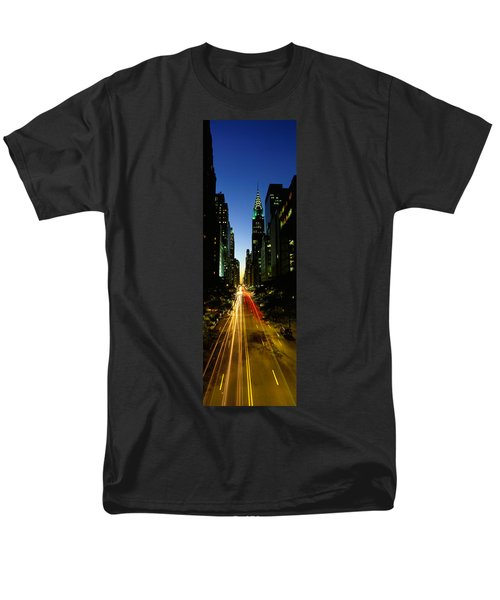 Lexington Avenue, Cityscape, Nyc, New Men's T-Shirt  (Regular Fit) by Panoramic Images