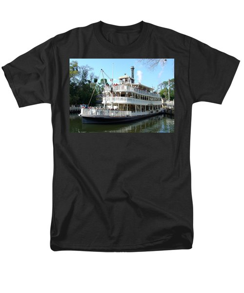Men's T-Shirt  (Regular Fit) featuring the photograph Liberty Riverboat by David Nicholls
