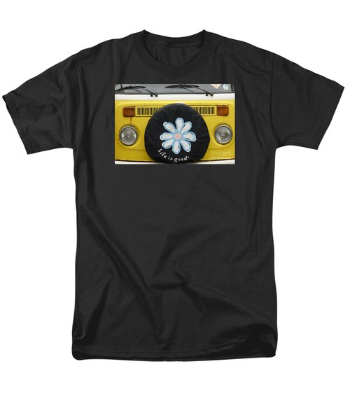 Life Is Good With Vw Men's T-Shirt  (Regular Fit) by Wendy Wilton