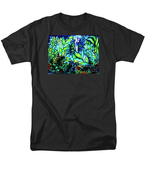 Men's T-Shirt  (Regular Fit) featuring the painting Life Without Filters by Hazel Holland