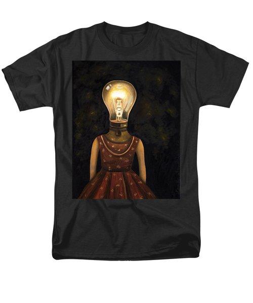 Light Headed Men's T-Shirt  (Regular Fit) by Leah Saulnier The Painting Maniac