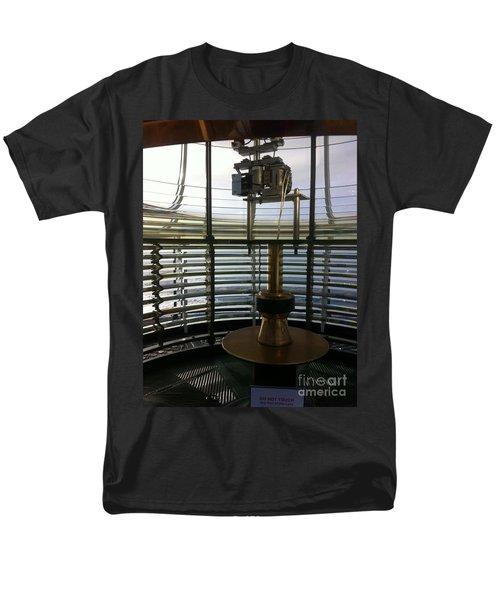 Men's T-Shirt  (Regular Fit) featuring the photograph Light House Lamp by Susan Garren
