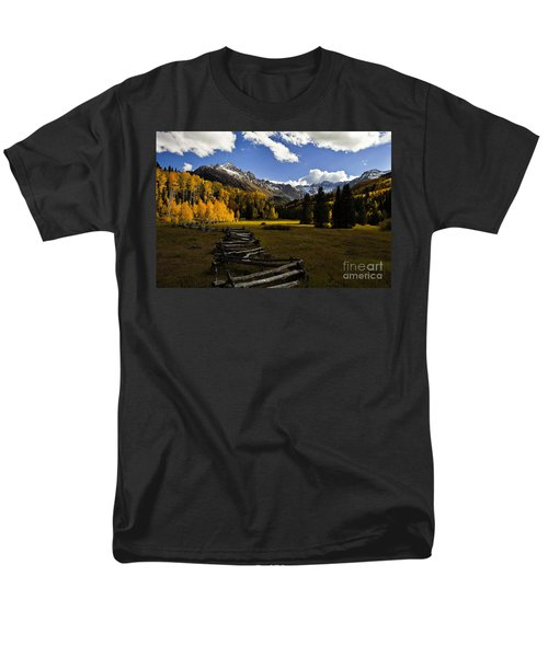 Light In The Valley Men's T-Shirt  (Regular Fit) by Steven Reed