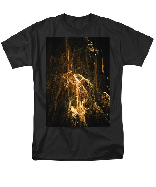 Men's T-Shirt  (Regular Fit) featuring the photograph Light Roots by Evelyn Tambour