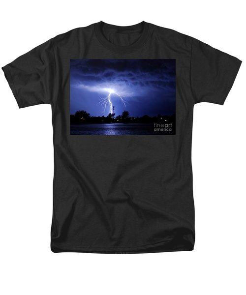 Power From Above Men's T-Shirt  (Regular Fit) by Quinn Sedam