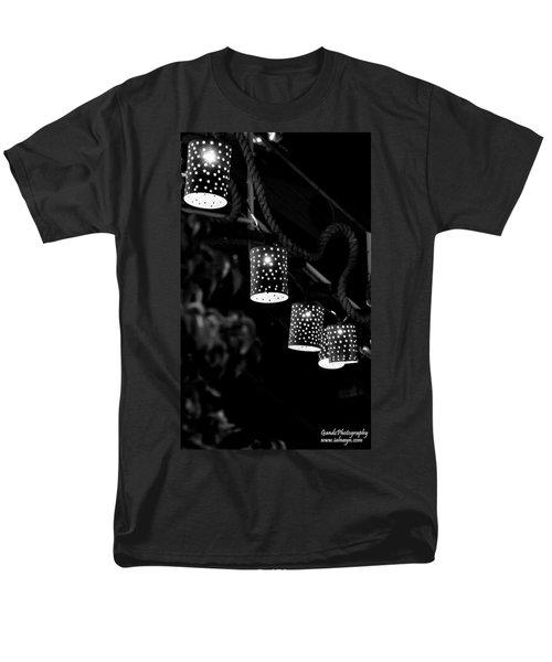 Men's T-Shirt  (Regular Fit) featuring the digital art Lights by Gandz Photography