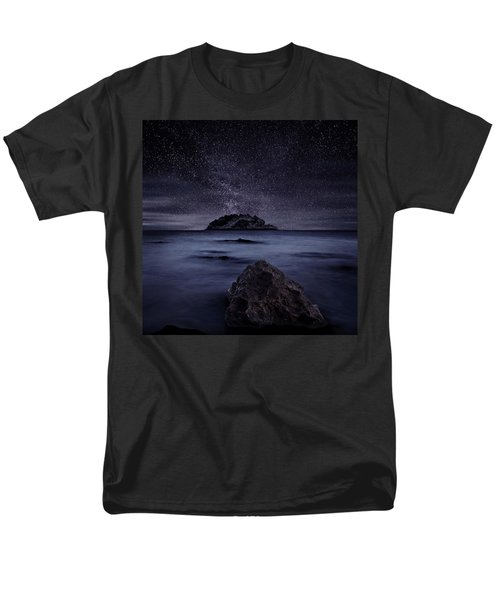 Lights Of The Past Men's T-Shirt  (Regular Fit) by Jorge Maia