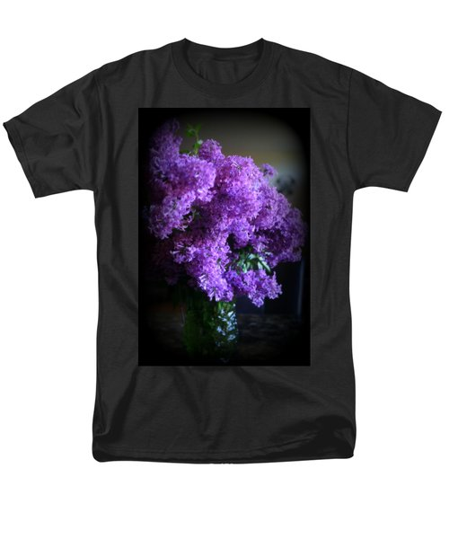 Lilac Bouquet Men's T-Shirt  (Regular Fit) by Kay Novy