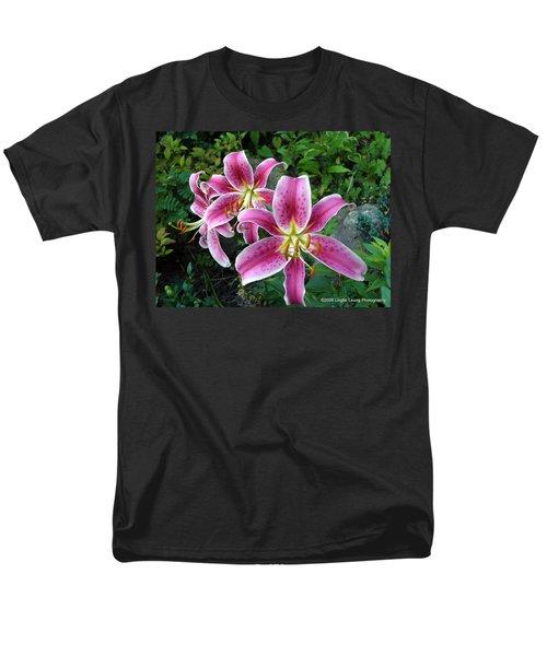Men's T-Shirt  (Regular Fit) featuring the photograph Lilies Of The Field by Lingfai Leung