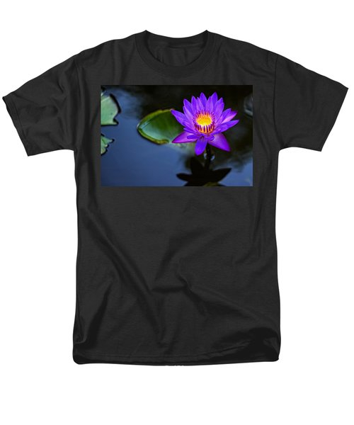Lily Awakens Men's T-Shirt  (Regular Fit) by Dave Files