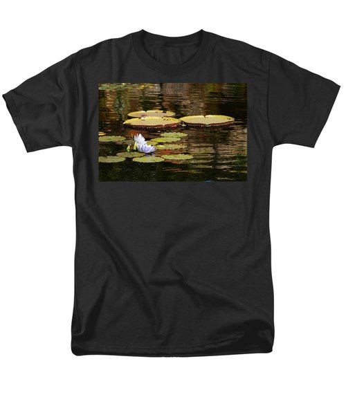 Men's T-Shirt  (Regular Fit) featuring the photograph Lily Pad by Kathy Churchman