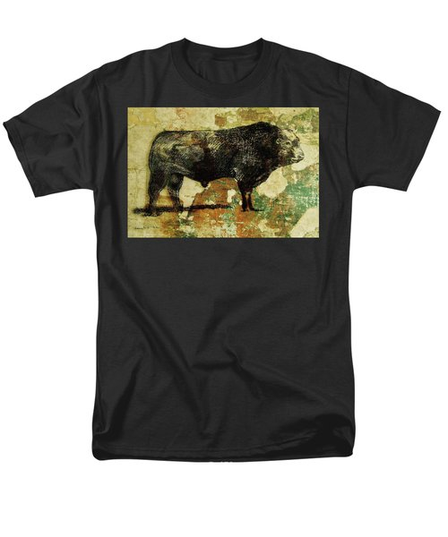French Limousine Bull 11 Men's T-Shirt  (Regular Fit) by Larry Campbell