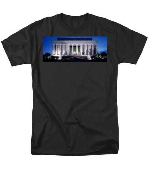Lincoln Memorial At Dusk, Washington Men's T-Shirt  (Regular Fit) by Panoramic Images