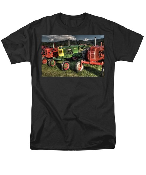 Lined Up Men's T-Shirt  (Regular Fit) by Michael Eingle