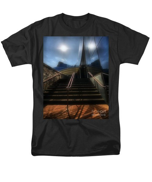 Men's T-Shirt  (Regular Fit) featuring the photograph Lines N Textures by Robert McCubbin