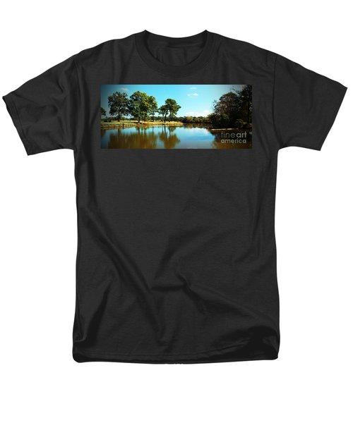 Men's T-Shirt  (Regular Fit) featuring the photograph Little Creek by Angela DeFrias