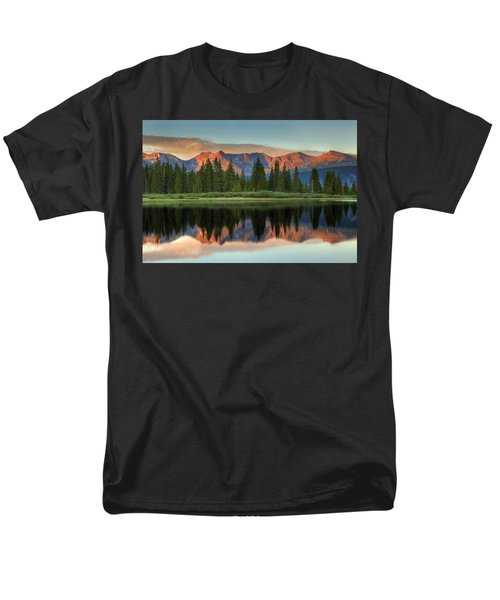 Little Molas Lake Sunset 2 Men's T-Shirt  (Regular Fit) by Alan Vance Ley