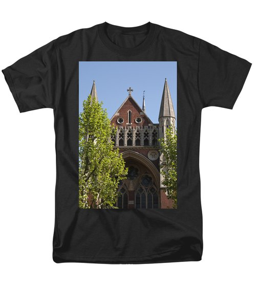 Men's T-Shirt  (Regular Fit) featuring the photograph Little Venice Church by Maj Seda